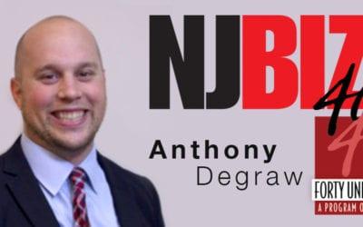 Anthony Degraw NJBIZ 2019 40 Under 40